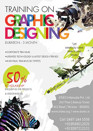 Graphic Design Training in Thrissur