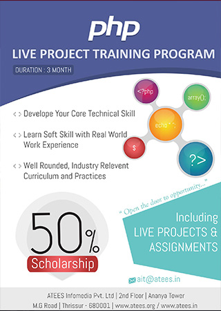 Php Live projects in Thrissur