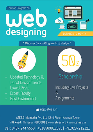web designing Course in Thrissur
