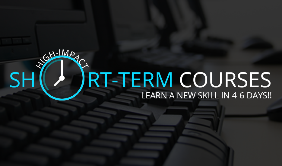 Short Term Certificate Courses in Kerala